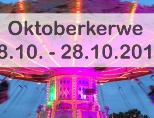 Alle Informationen zur Oktoberkerwe 2019 sind jetzt online