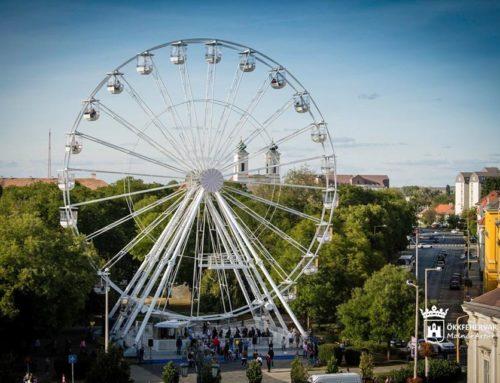Riesenrad WHEEL OF CITY