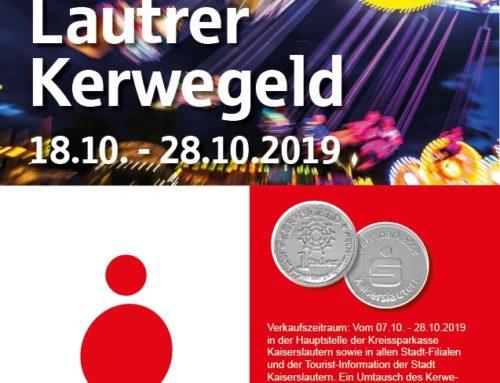 "Kerwegeld der KSK zur ""Lautrer Oktoberkerwe"""
