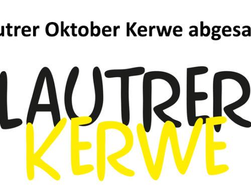 Oktoberkerwe und Verkaufsoffener Sonntag abgesagt