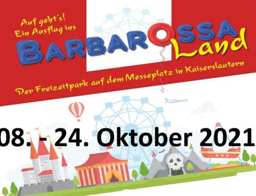 Barbarossaland Kaiserslautern 08.-24.Oktober 2021
